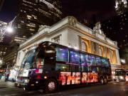 Tour por NY através do THE RIDE