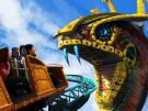 Montanha russa Cobra no Busch Gardens