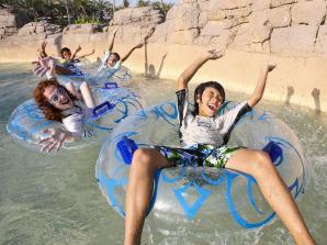 Parque Aquático Aquaventure do Atlantis The Palm