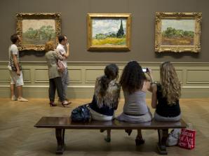 Entrada ao Metropolitan Museum of Art em Nova York