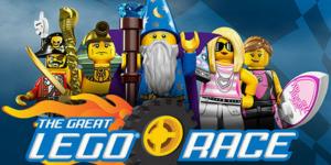 Corrida Virtual - Legoland