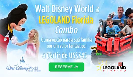 Combo Disney & LEGOLAND