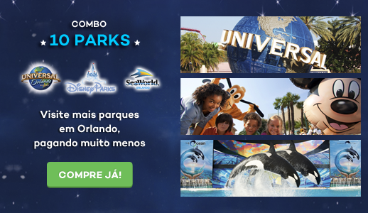 10 Park Disney, Universal & SeaWorld