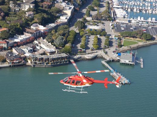 Voo De Helicoptero San Francisco  California