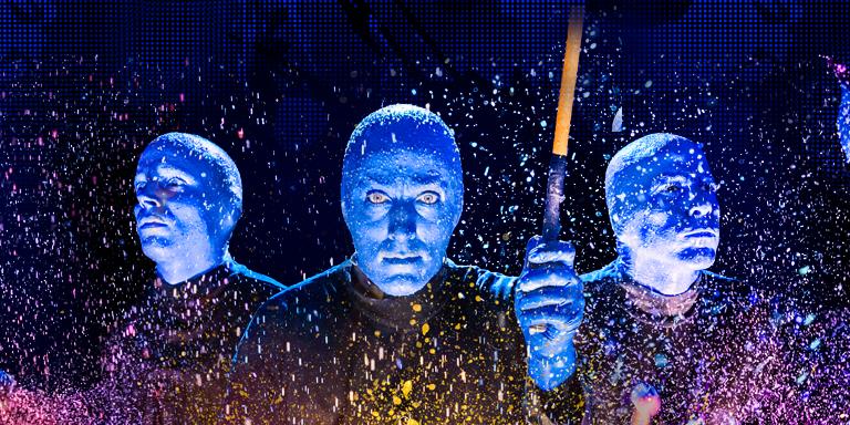 Desconto de 35% para o Blue Man Group