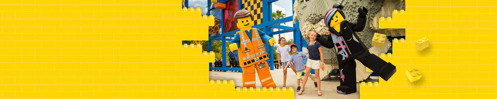 Crianças NÃO PAGAM no LEGOLAND® Florida