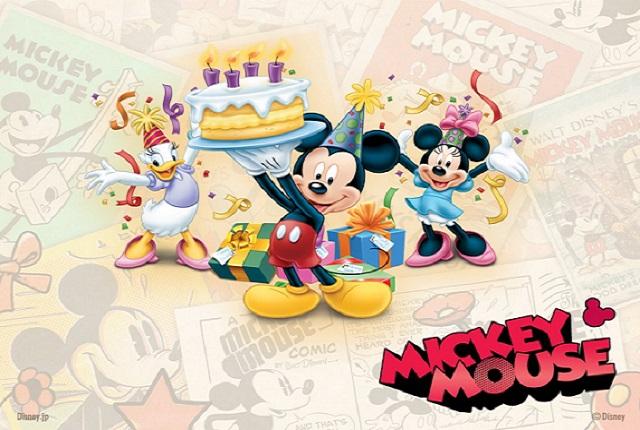 Comemorando Aniversário na Disney