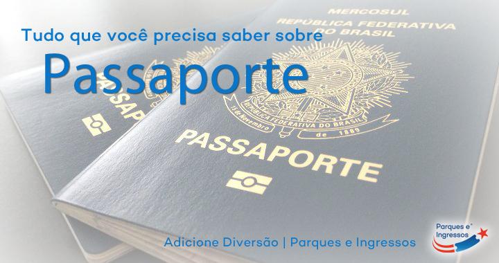 Passaporte viagem internacional