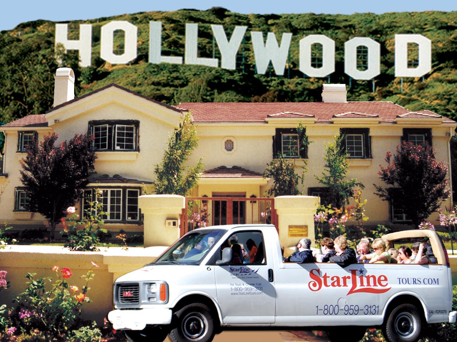 Passeio Movie Stars Homes Tour California